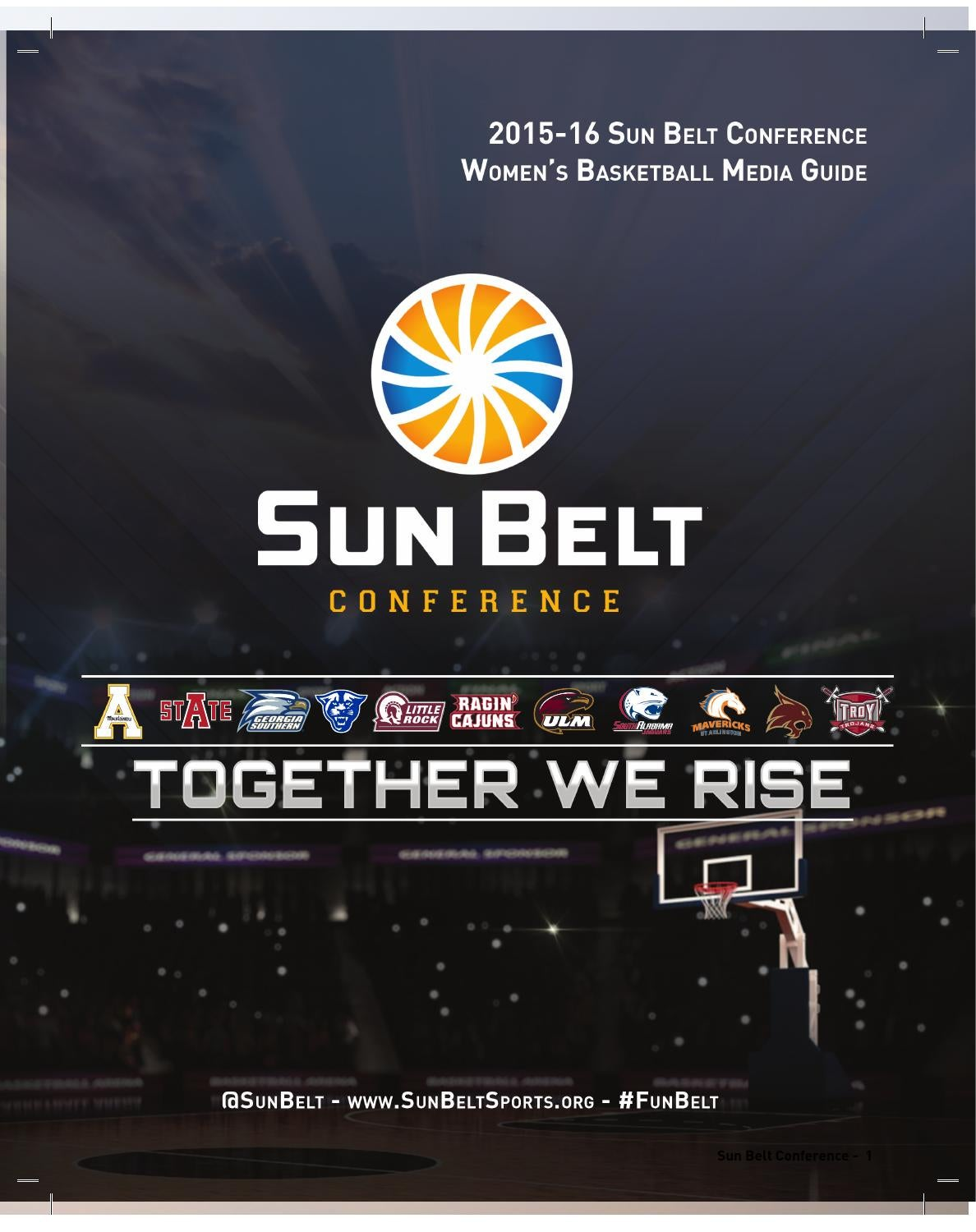 cc7146cb296 2015-16 Sun Belt Women s Basketball Media Guide by Keith Nunez - issuu