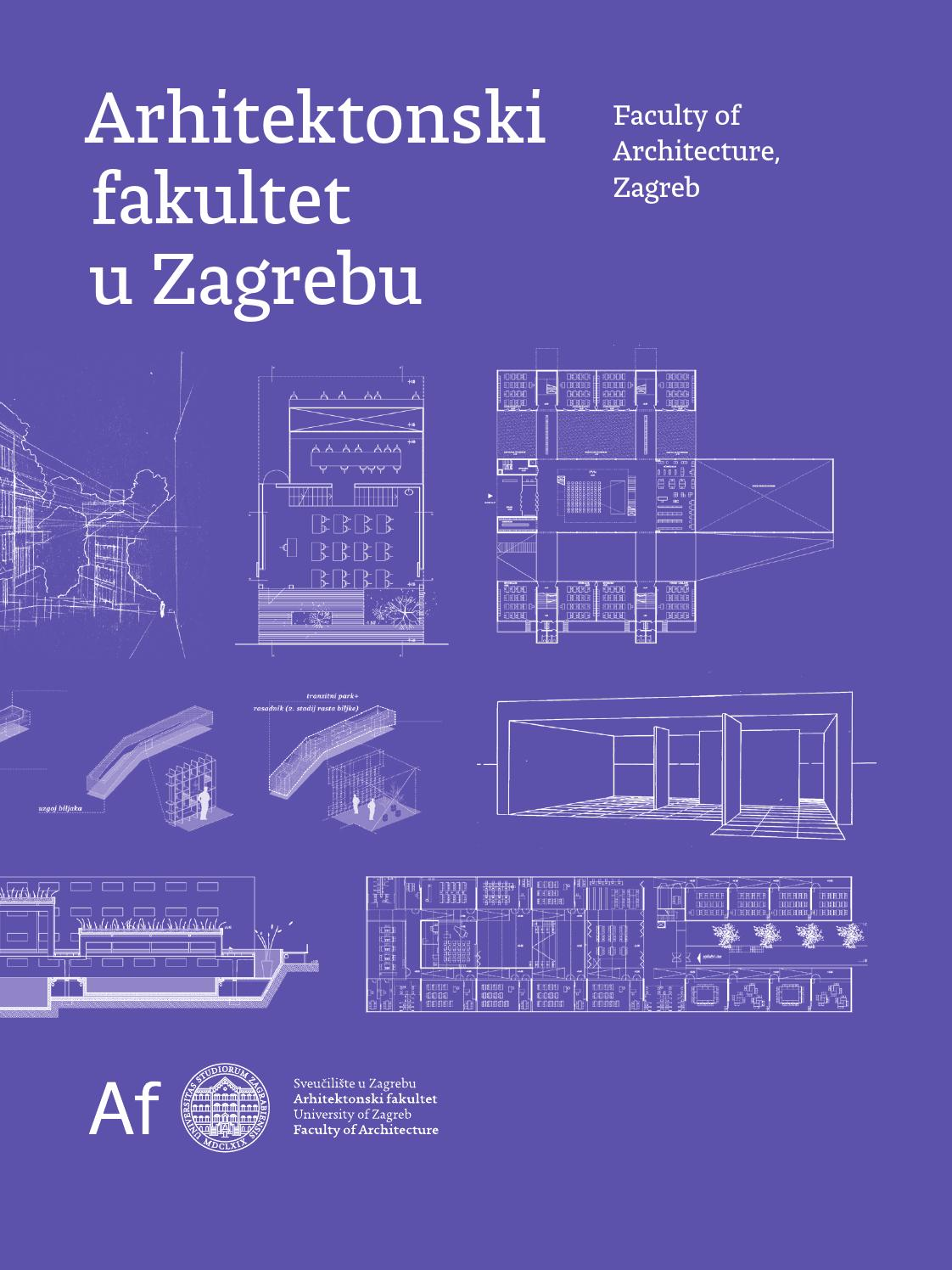 Afzg Promo Brosura 2015 By Faculty Of Architecture Zagreb Issuu