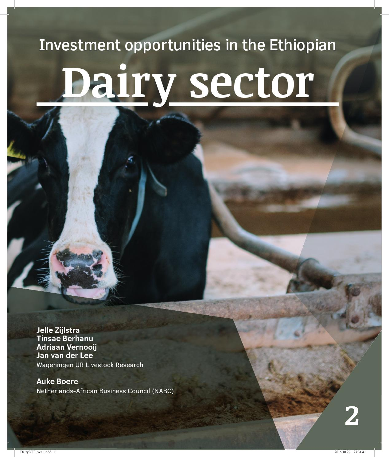 Dairy investment opportunities in ethiopia ljcb investment group company information