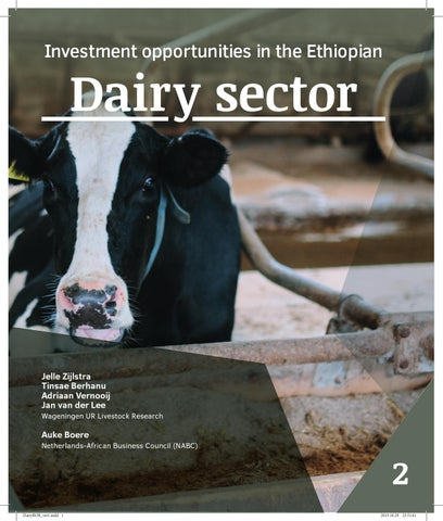 Ethiopia dairy industry: opportunities in milk processing