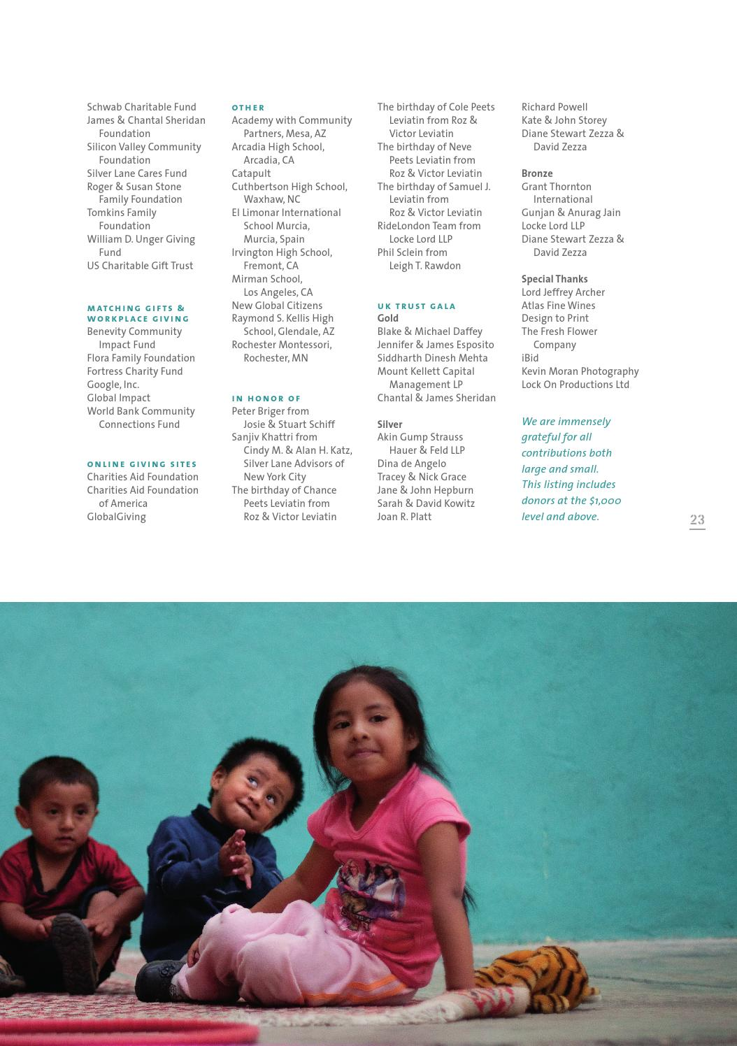 The Global Fund for Children 2014-2015 Annual Report by Global Fund for Children - issuu