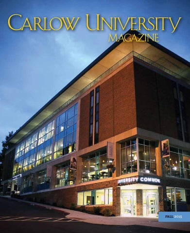 Carlow Campus Map.Carlow Magazine Fall 2015 By Carlow University Issuu