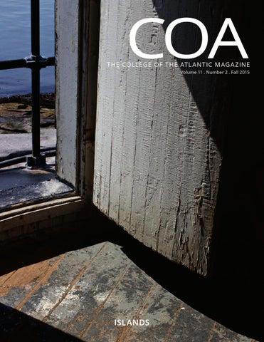 COA Magazine Fall 2015 by College of the Atlantic - issuu 587a9959b70