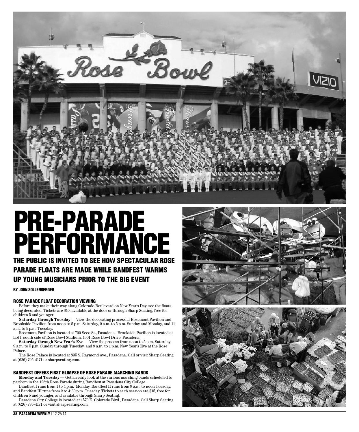 Welcome To Pasadena 2014 By Southland Publishing Issuu