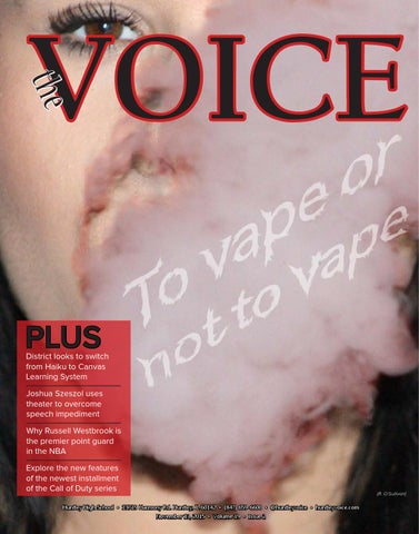 be86eb986 The Voice November 2015 by Huntley Voice - issuu
