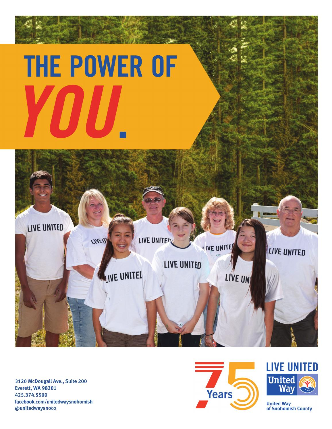 Ina Mae Spivey Stunning live united leaders publicationunited way of snohomish county