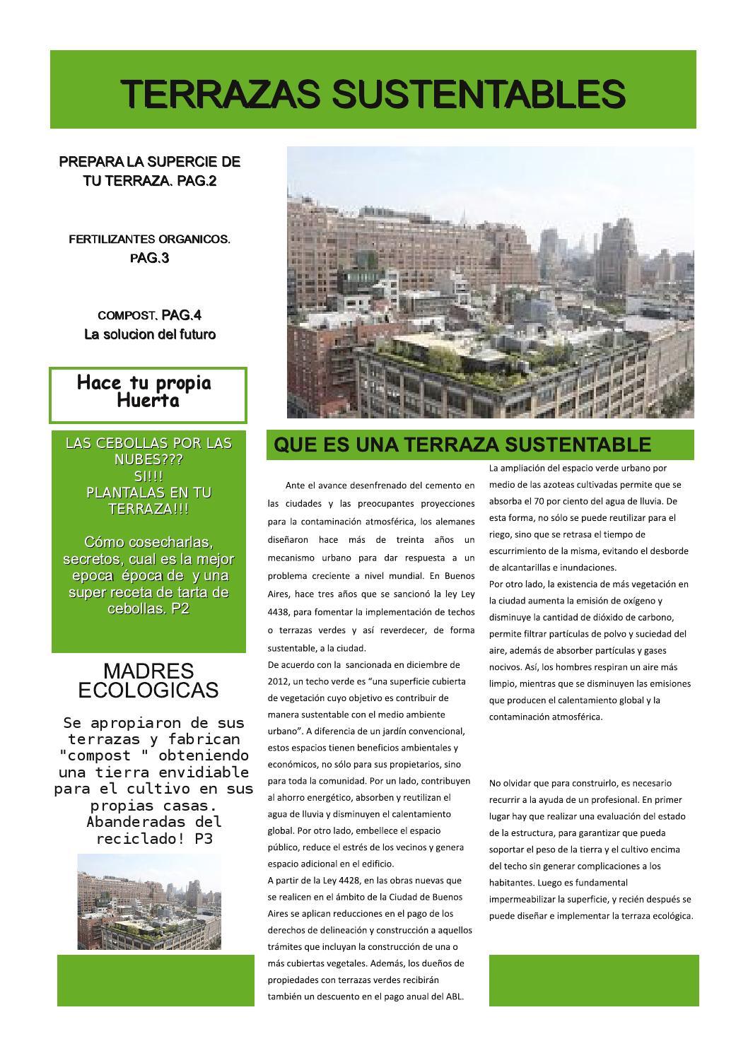 Terrazas Sustentables By Cristina Mudarra Issuu
