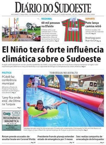 Diário do sudoeste 17 de novembro de 2015 ed 6512 by Diário do ... be5832b4cc