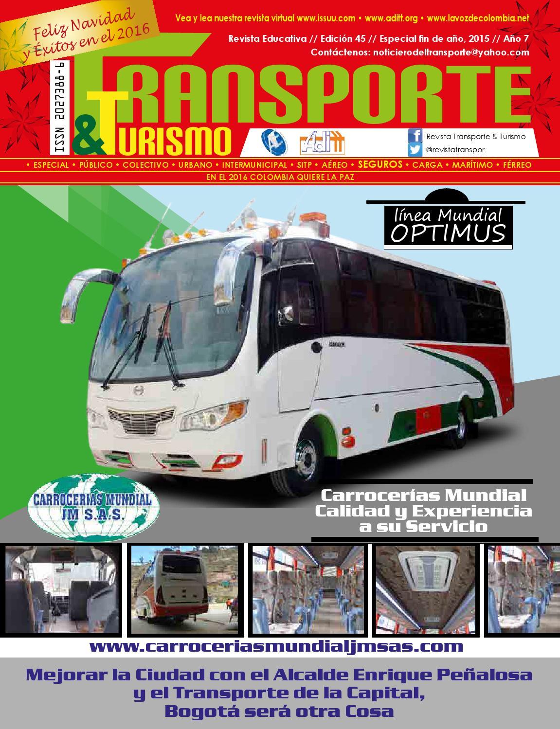 Revista transporte & turismo fin de año web by Revista Transporte ...