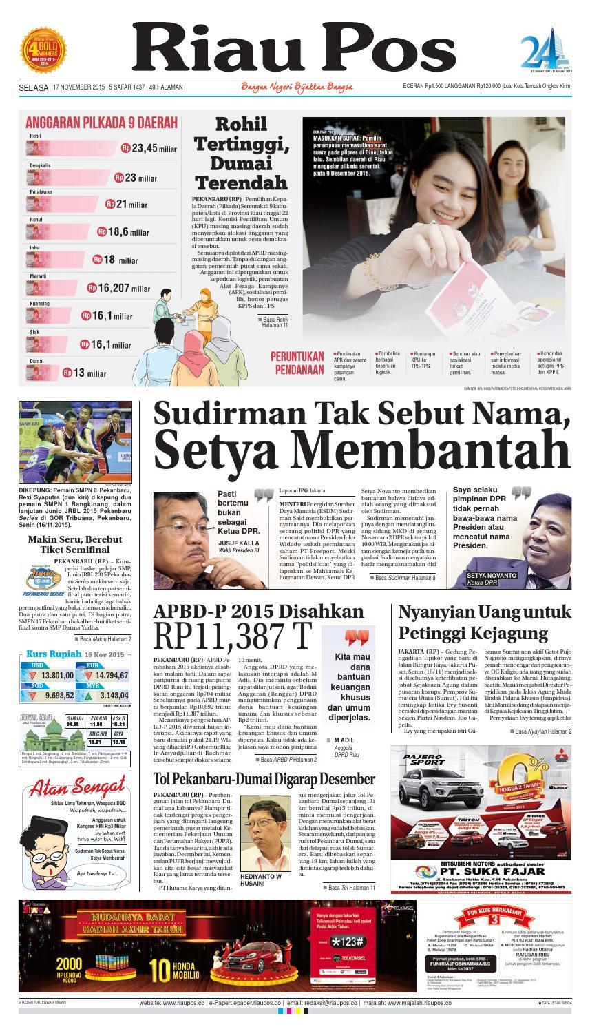 Riau Pos By Issuu Produk Ukm Bumn Tenun Pagatan Kemeja Pria Biru Kapal