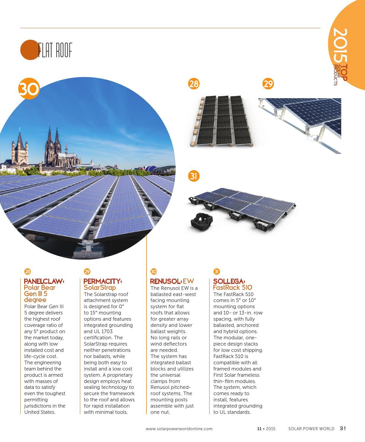 Solar Power World November 2015 By Wtwh Media Llc Issuu Panel Grounding Wiring Diagram