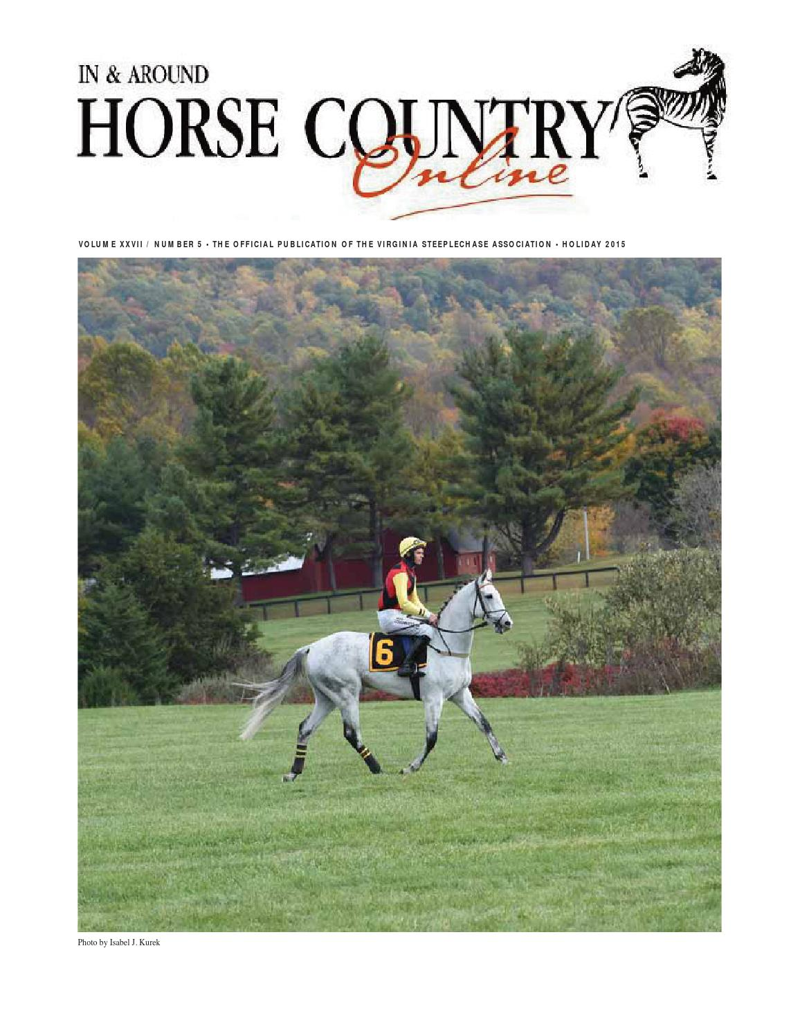 In Around Horse Country Holiday 2015 By Marion Maggiolo
