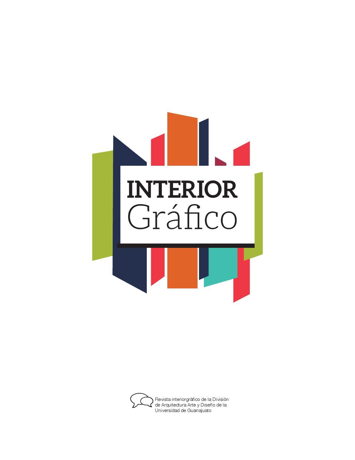 REVISTA INTERIOR GRÁFICO ANA KAREN CORONEL by Taller Editorial y ...