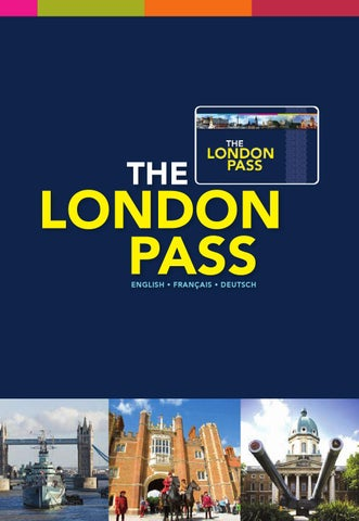 The London Pass By Kirk He Issuu