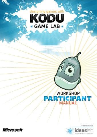 kodu game lab tutorial download