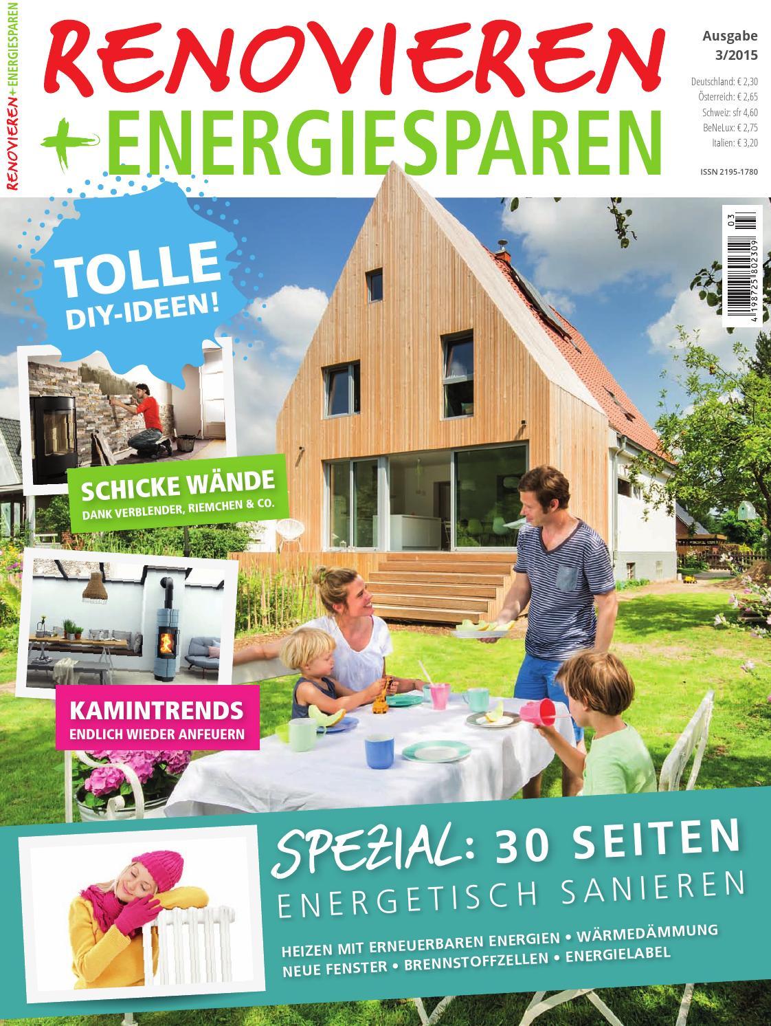 Renovieren 3/2015 by Family Home Verlag GmbH - issuu