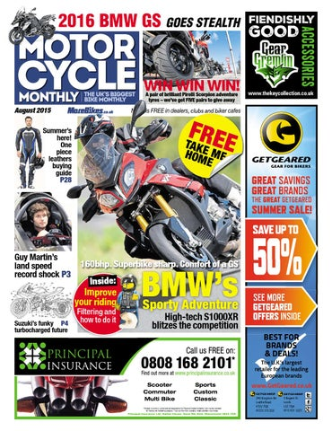 Motor Cycle Monthly - August 2015 - FULL ISSUE by Mortons Media
