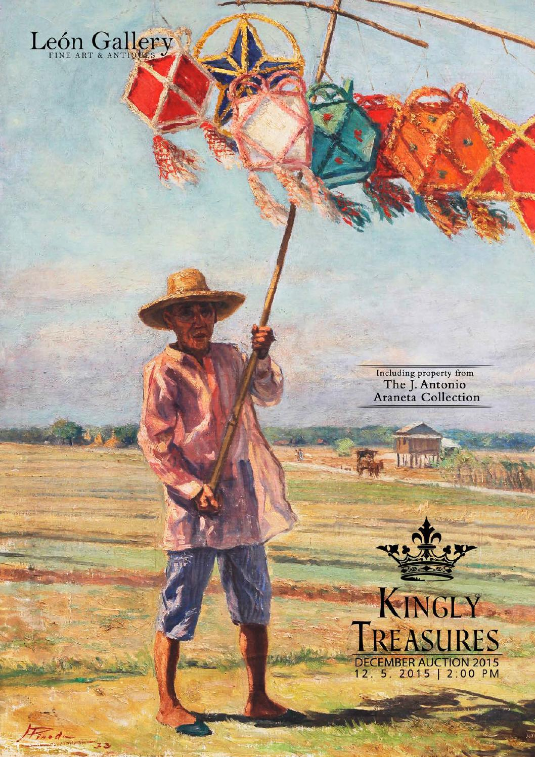 The Kingly Treasures Auction 2015 by Leon Gallery Makati City - issuu c37cfbec317