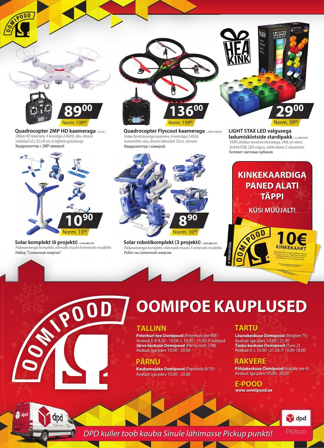 55115f00510 Jõulukataloog 2015 by Oomipood - issuu
