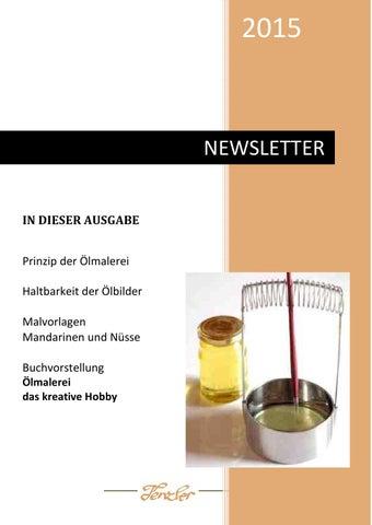 ölmalerei Newsletter 2015 1 By Dana Tenzler Issuu