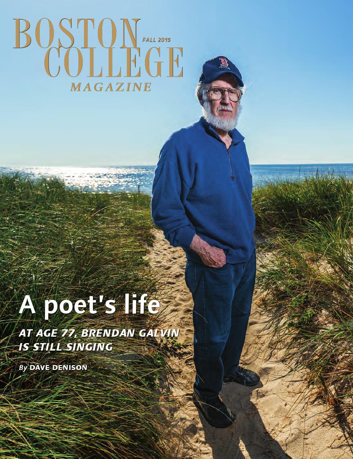 Boston College Magazine, Fall 2015 by Boston College - issuu