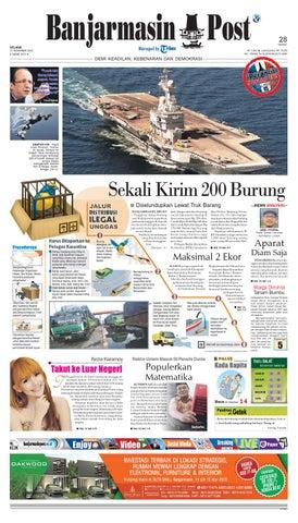 Banjarmasin Post Selasa 17 November 2015 by Banjarmasin Post - issuu b5c533dee6