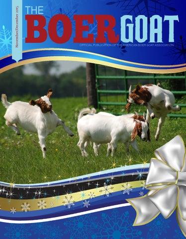 3b6c2bd4e NovDec2015 by American Boer Goat Association - issuu