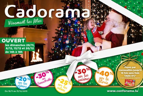Doc cadorama vivement les fêtes by conforama luxembourg issuu