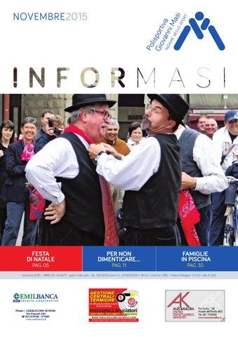 2a4cb92f35b7 Informasi Novembre 2015 by Polisportiva Giovanni Masi - issuu