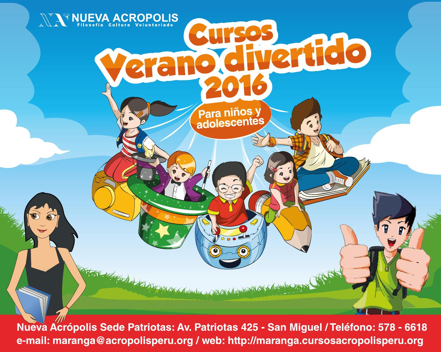 Verano Divertido 2016 - Cursos para niños y adolescentes (de 5 a 15 años)  by NUEVA ACROPOLIS MARANGA - issuu 16591b3f57d