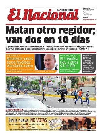 Impreso17 11 15 by Periodico El Nacional - issuu 631c3a92e65