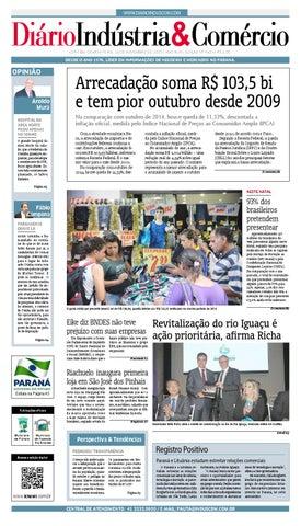 7e652ca4e Diário Indústria Comércio - 18 de novembro de 2015 by Diário ...