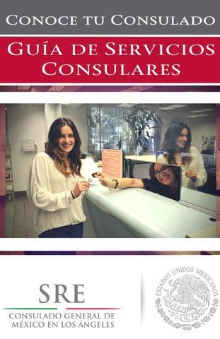 Guía de Servicios Consulares by CONSULMEX LOS ANGELES - issuu