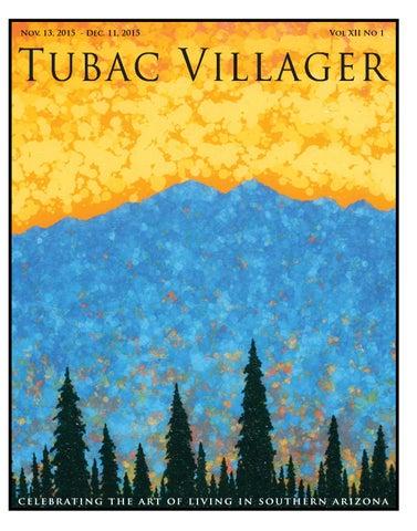 Tubac Villager Nov 2015 By Tubac Villager Issuu