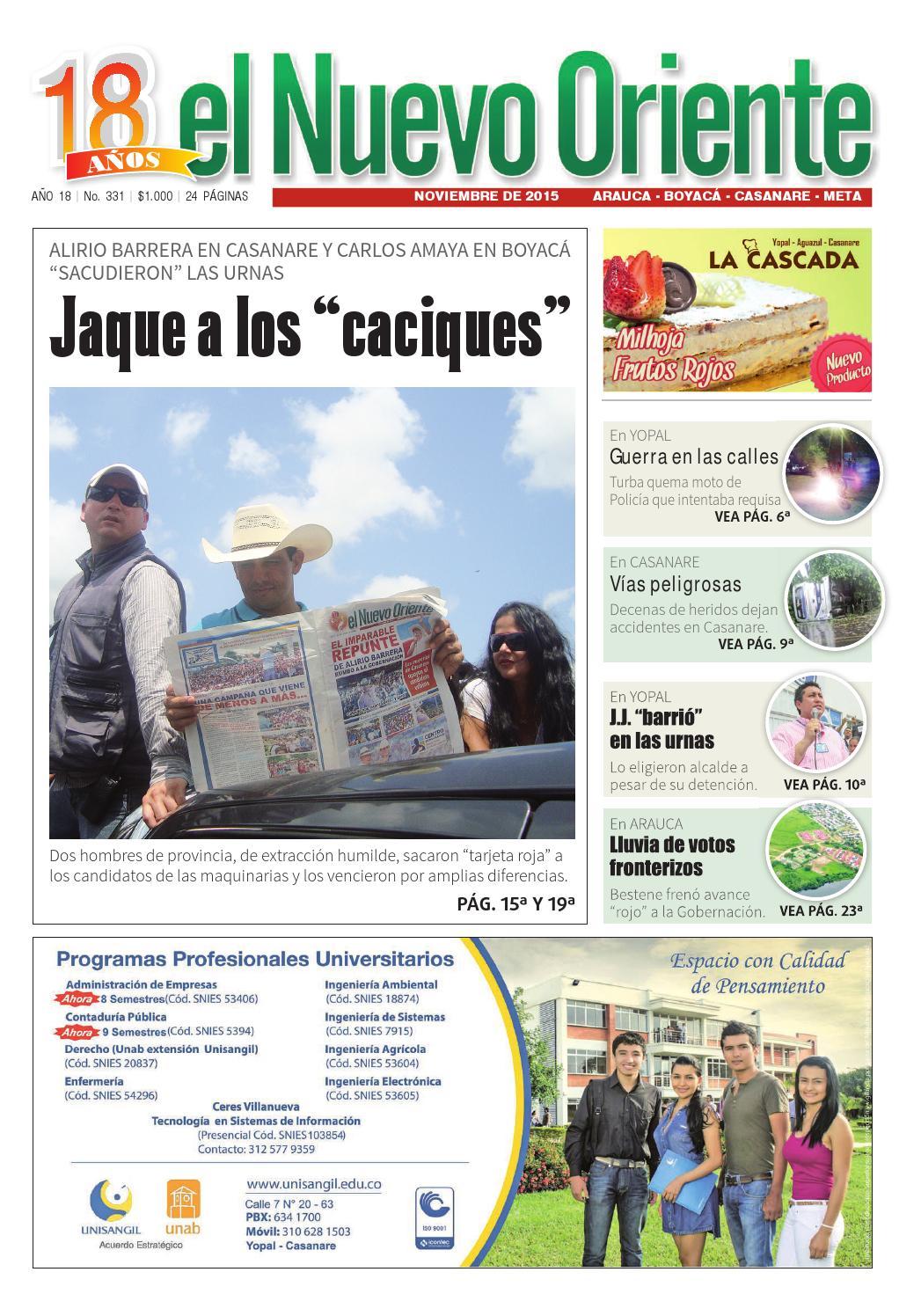 El Nuevo Oriente edición 331 (2) by Periódico El Nuevo