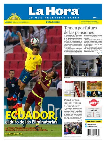 Quito 18 noviembre 2015 by Diario La Hora Ecuador - issuu b220fcb1e28