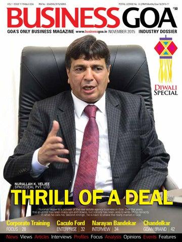 Md bg nov web by Business Goa - issuu
