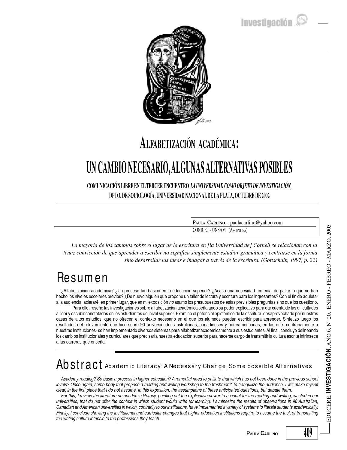 Alfabetización academica by Yolanda Rodríguez - issuu