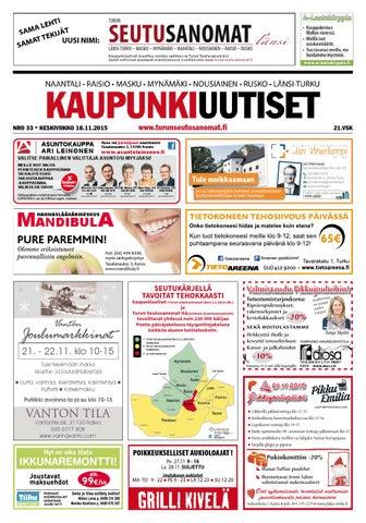 Kaupunkiuutiset 18.11.2015 by Turun Seutusanomat - issuu 928facda4f