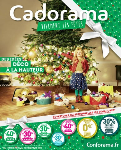 Conforama Catalogue 18novembre 27decembre2015 By