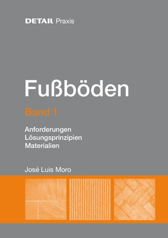 Detail Praxis Fussboden Band 1 By Detail Issuu