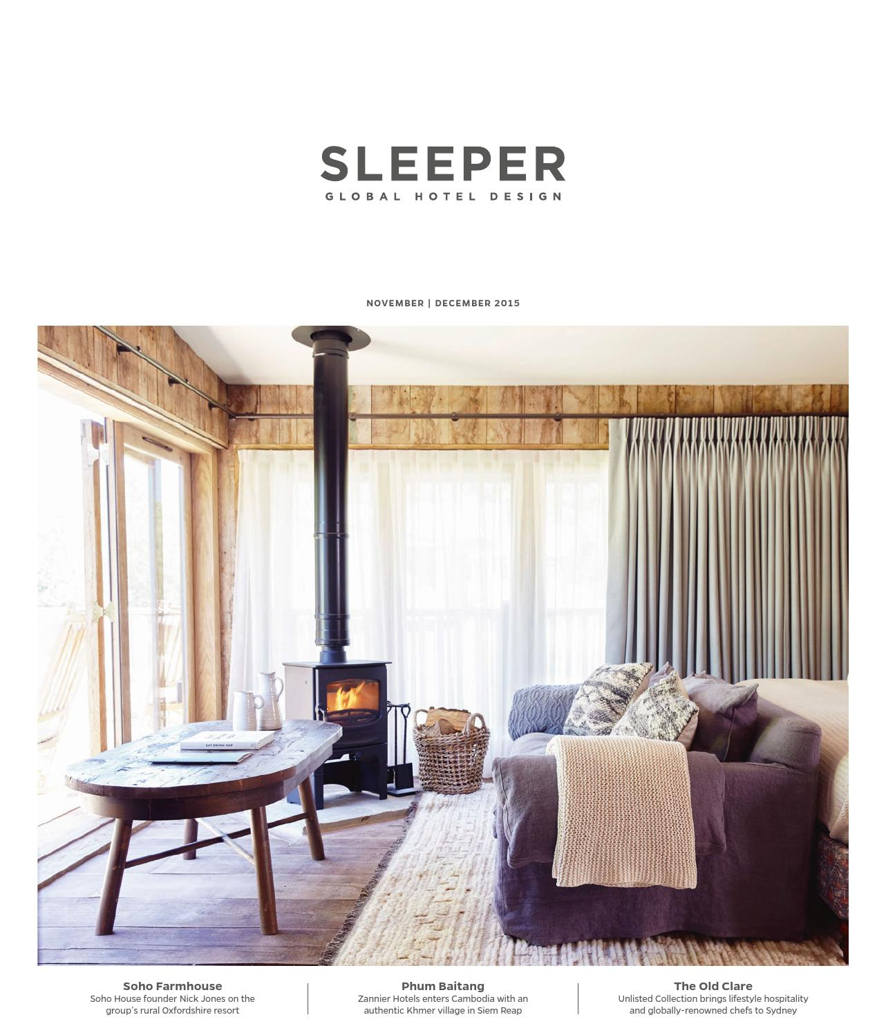 Sleeper November December 2015 Issue 63 By Mondiale Publishing  # Le Corner Meuble Tv Blanc Led Hi Fi Integre