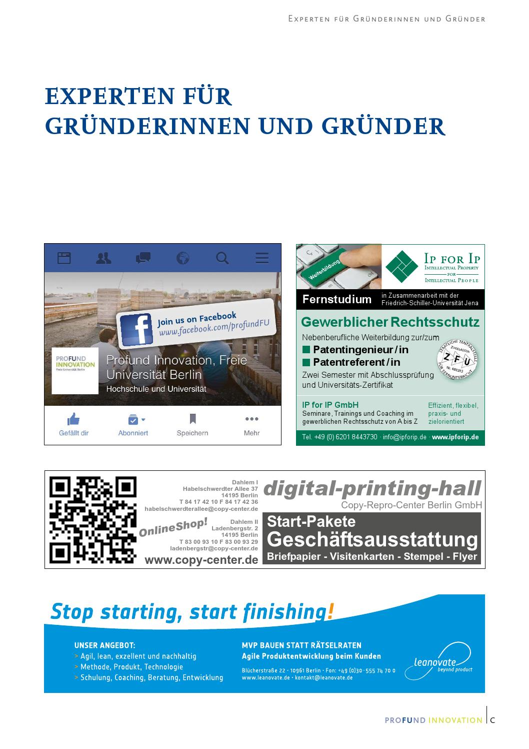 Profund Innovation Magazin 2016 By Profund Innovation Issuu