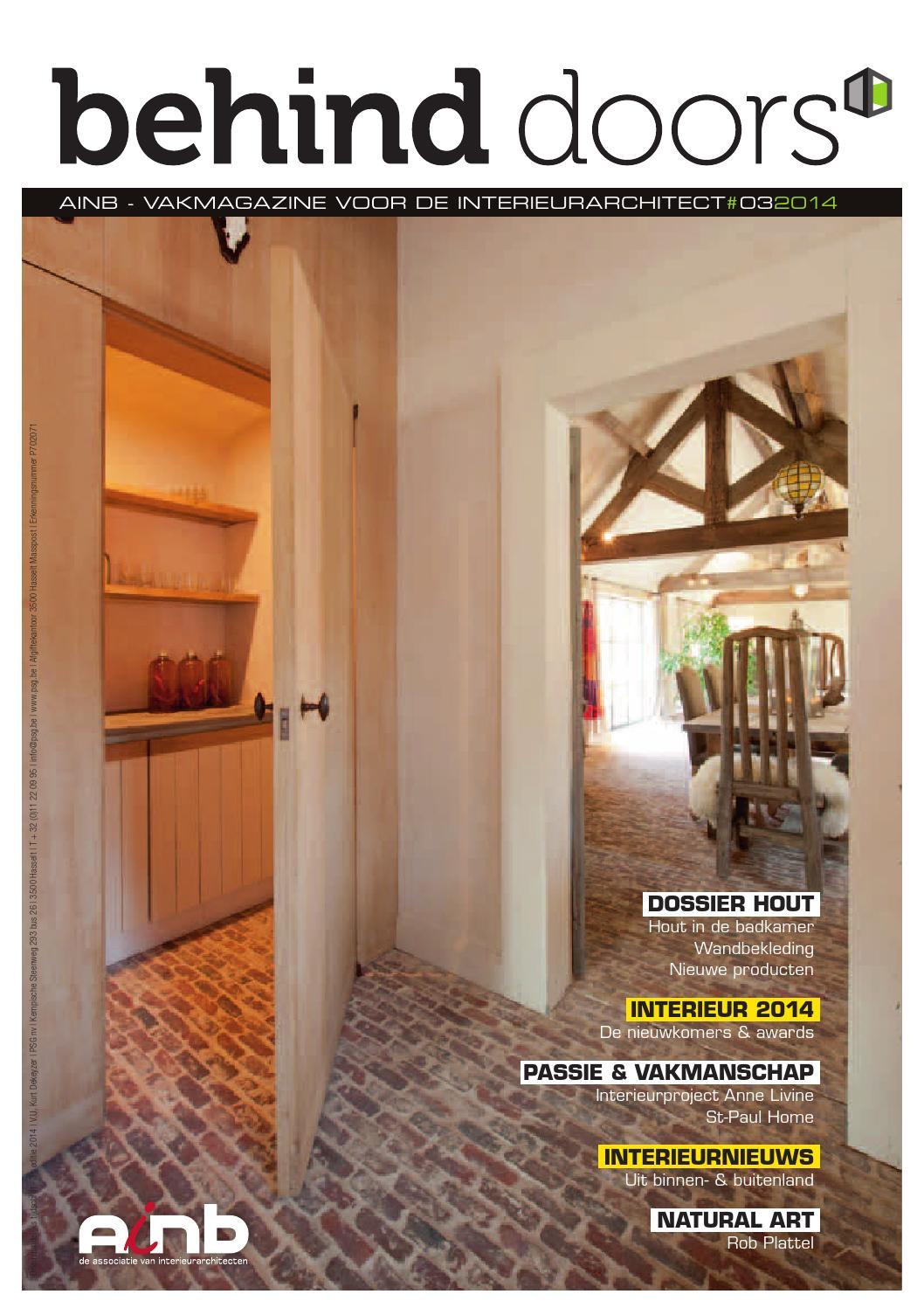 behinddoors03 2014 by ainb issuu