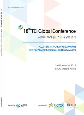 5836e509b05 TCI 2015 Conference Abstracts by TCI Network - issuu