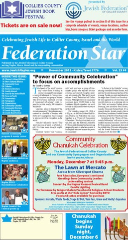 Federation star september 2016 by jewish federation of collier federation star december 2015 fandeluxe Choice Image