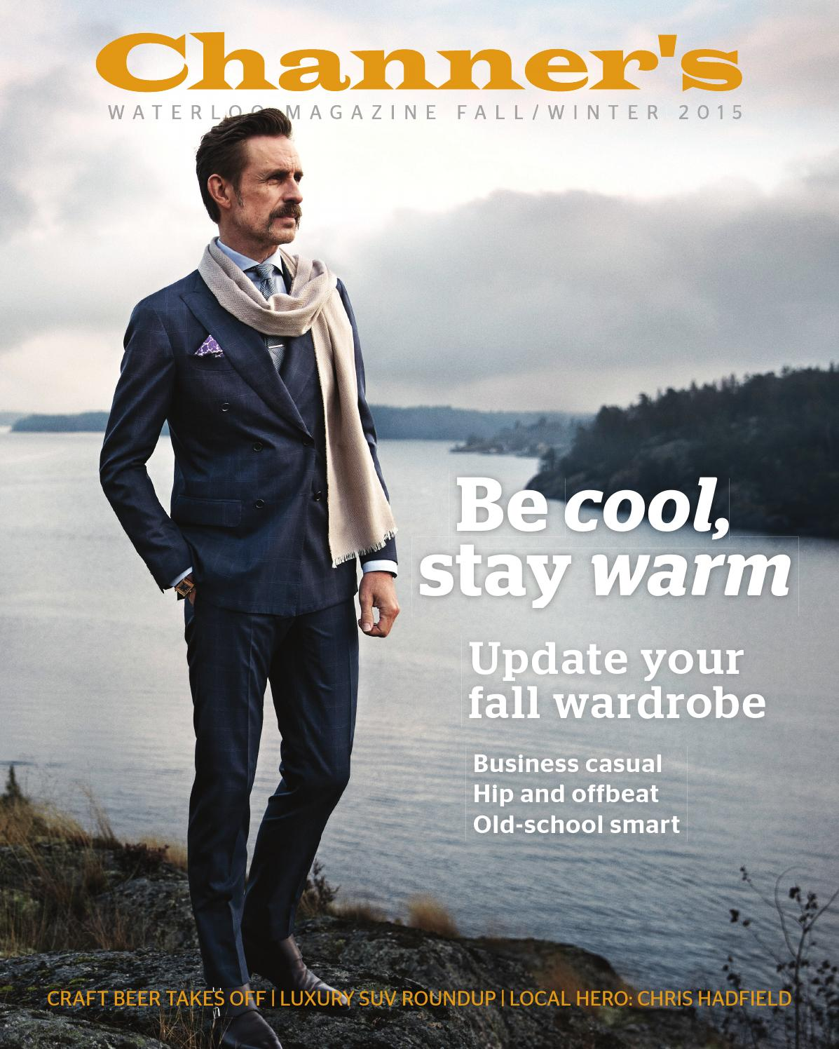 Channer\'s Waterloo New Fall/Winter 2015 Magazine by The Vital Group ...