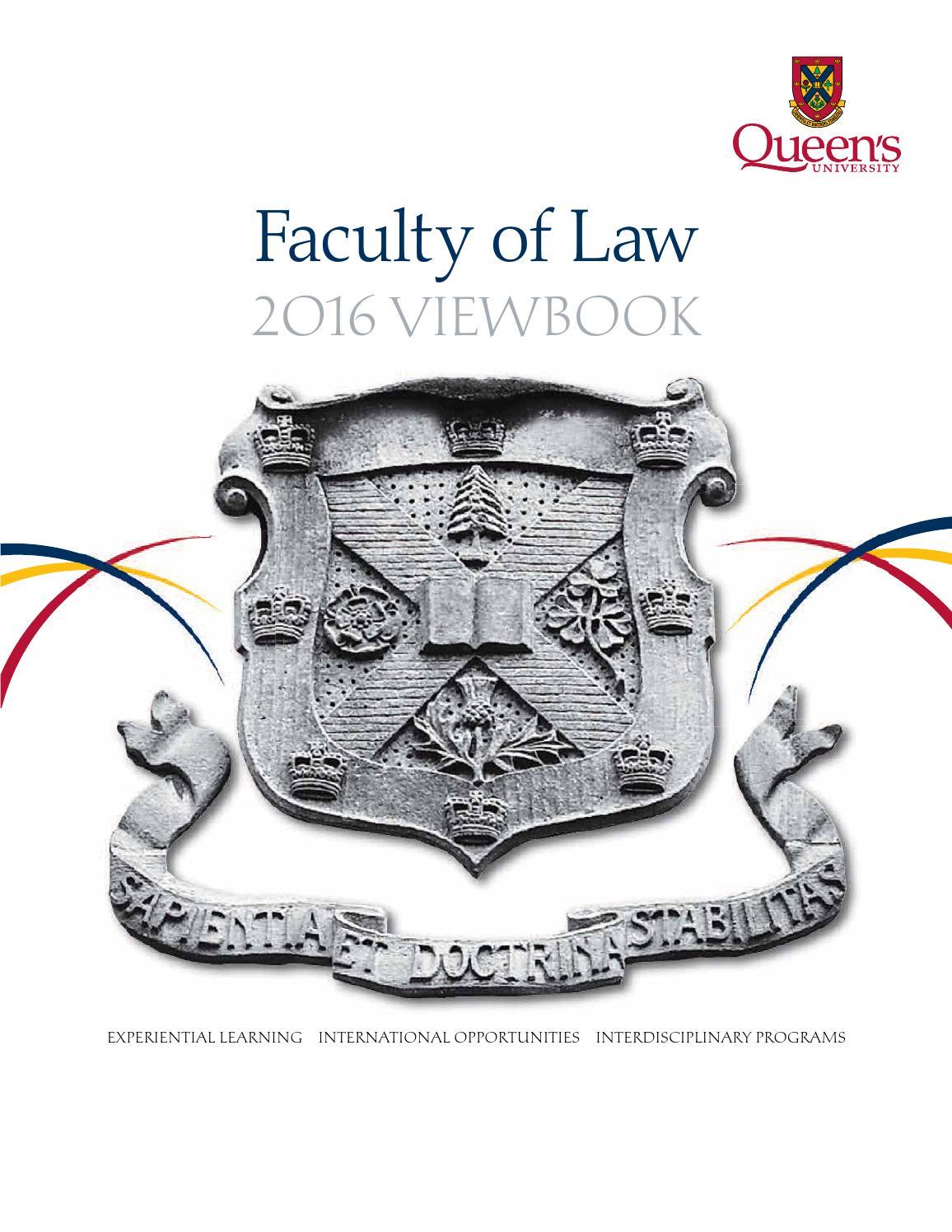 Queen\'s Law Viewbook 2016 - Queen\'s University, Kingston, Ontario by ...