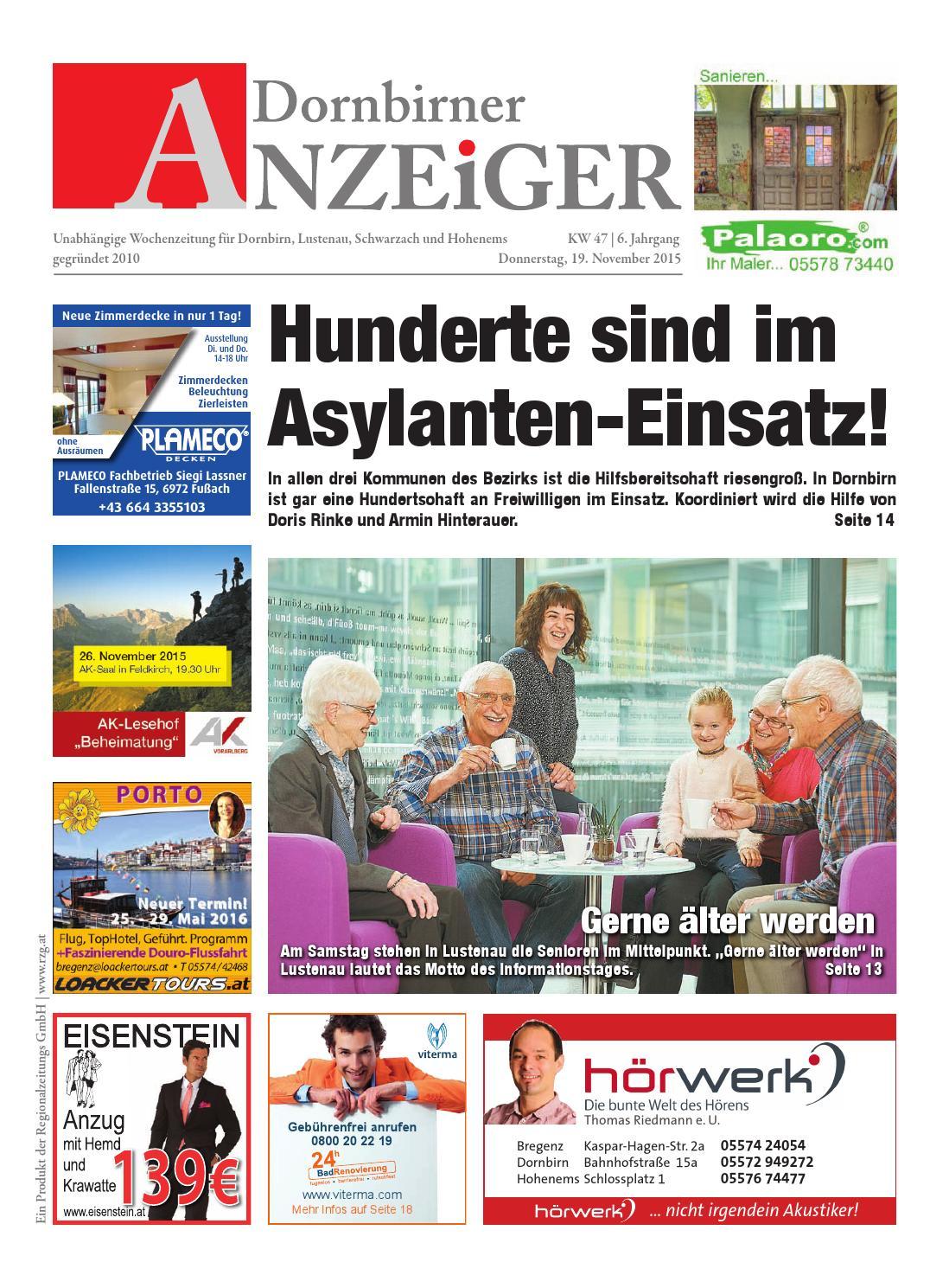 Dornbirner anzeiger 47 by Regionalzeitungs GmbH - issuu