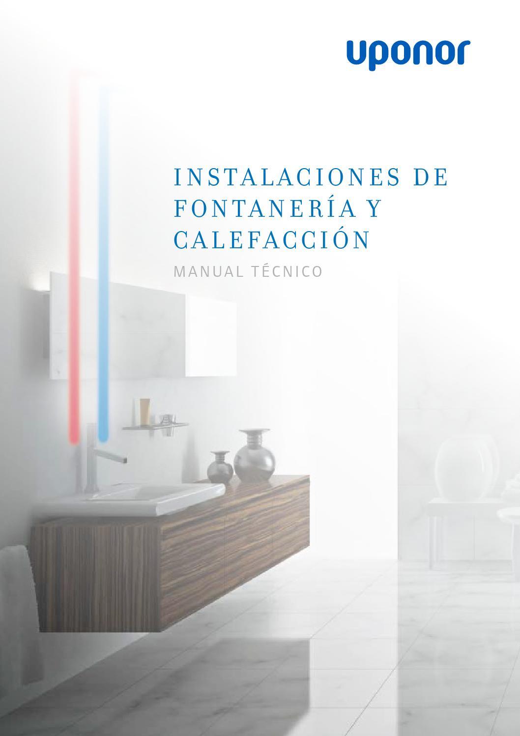 Manual tecnico fontaneria y calefaccion es by uponor Spain - issuu